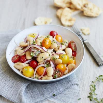 Weiße Bohnen Salat – Proteine satt!