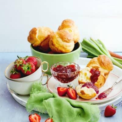 Erdbeer-Rhabarber-Marmelade einfach selber machen