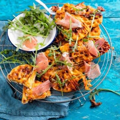Back deine Pizza im Waffeleisen und du wirst es lieben