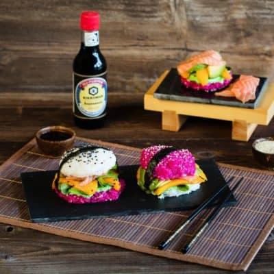 Sushi-Burger in pink? Unbedingt!