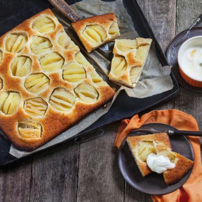 Apfelkuchen ohne Mehl so lecker wie von Oma