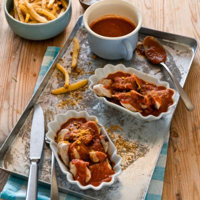 Schnelle Currywurstsoße fast ohne Zucker