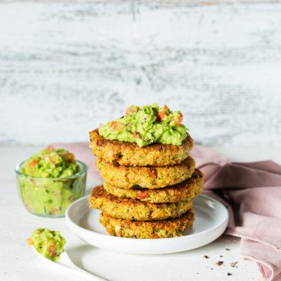 Die besten Zucchini-Puffer vegan und knusprig