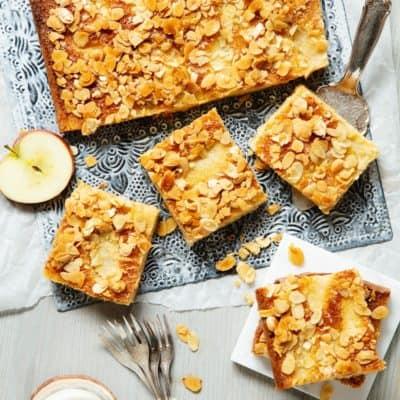 Low Carb Apfelkuchen nach schwedischem Rezept