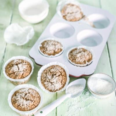 Saftige Müsli-Muffins ohne Zucker und Mehl