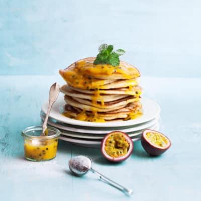 Pancakes ohne Ei, aber richtig saftig