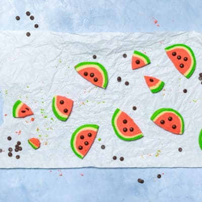 Sommerliche Melonenkekse einfach selber backen
