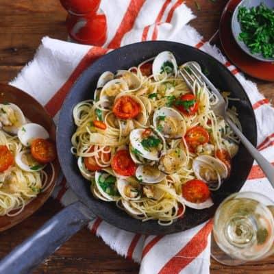 Spaghetti Vongole – mitgebracht aus der Emilia-Romagna