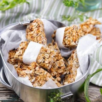 Müsliriegel ohne Zucker nach Lieblingsrezept